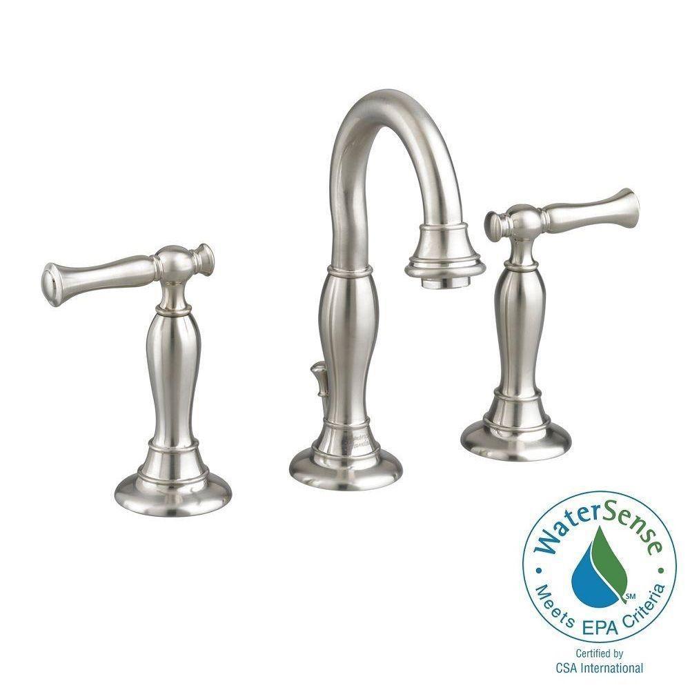 Widespread bathroom faucets under 100 - Widespread 2 Handle High Arc Bathroom Faucet In Brushed