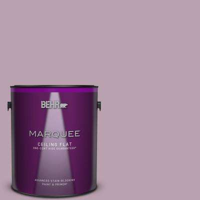 1 gal. #S110-4 Highland Thistle One-Coat Hide Ceiling Flat Interior Paint and Primer in One