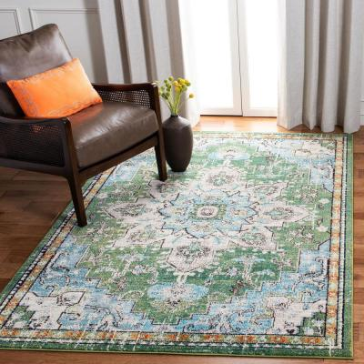 Green 9 X 12 Area Rugs The