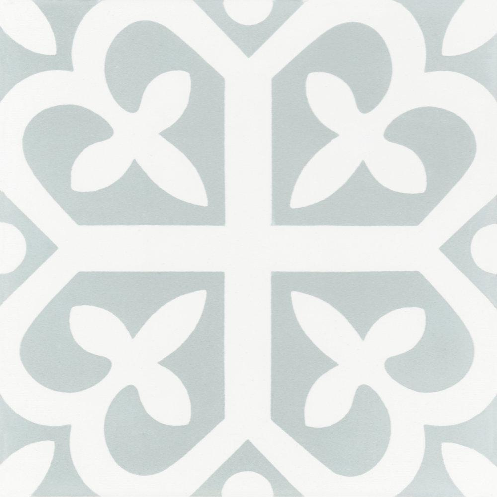 Villa Lagoon Tile Lucky 8 in. x 8 in. Cement Handmade Floor and Wall Tile (Box of 16/ 6.96 sq. ft.)