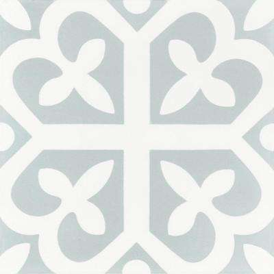 Lucky 7-7/8 in. x 7-7/8 in. Cement Handmade Floor and Wall Tile