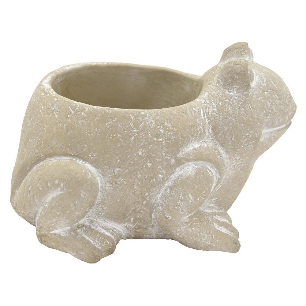 4.75 in. Frog Flower Pot