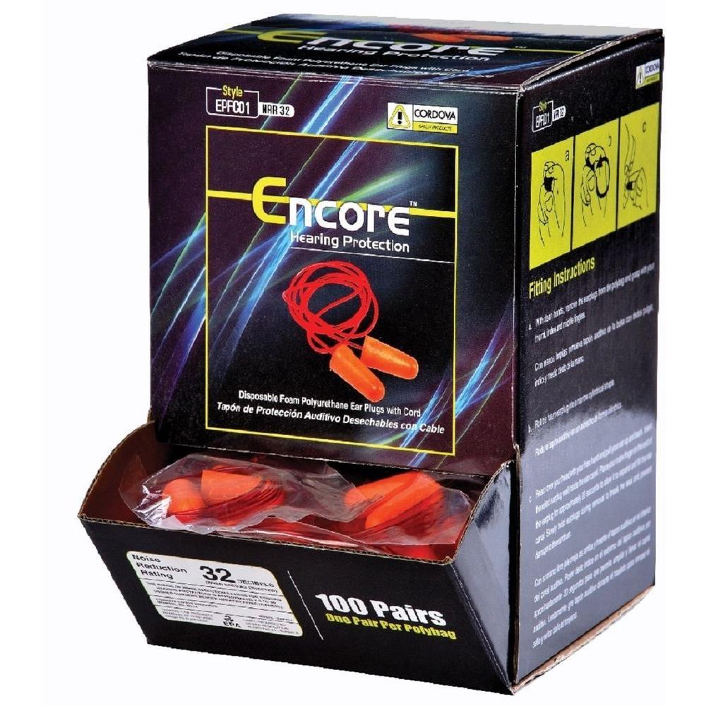 Encore Corded Ear Plug (2000-Pack)