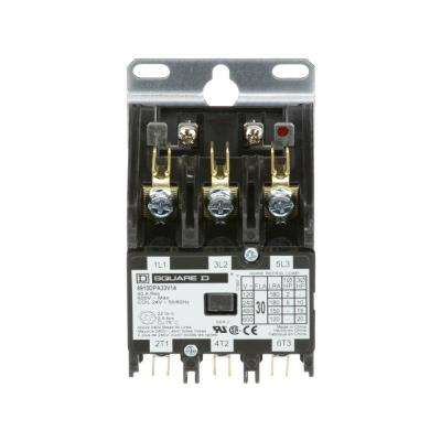 30 Amp 24-Volt AC 3 Pole Open Definite Purpose Contactor (20-Pack)