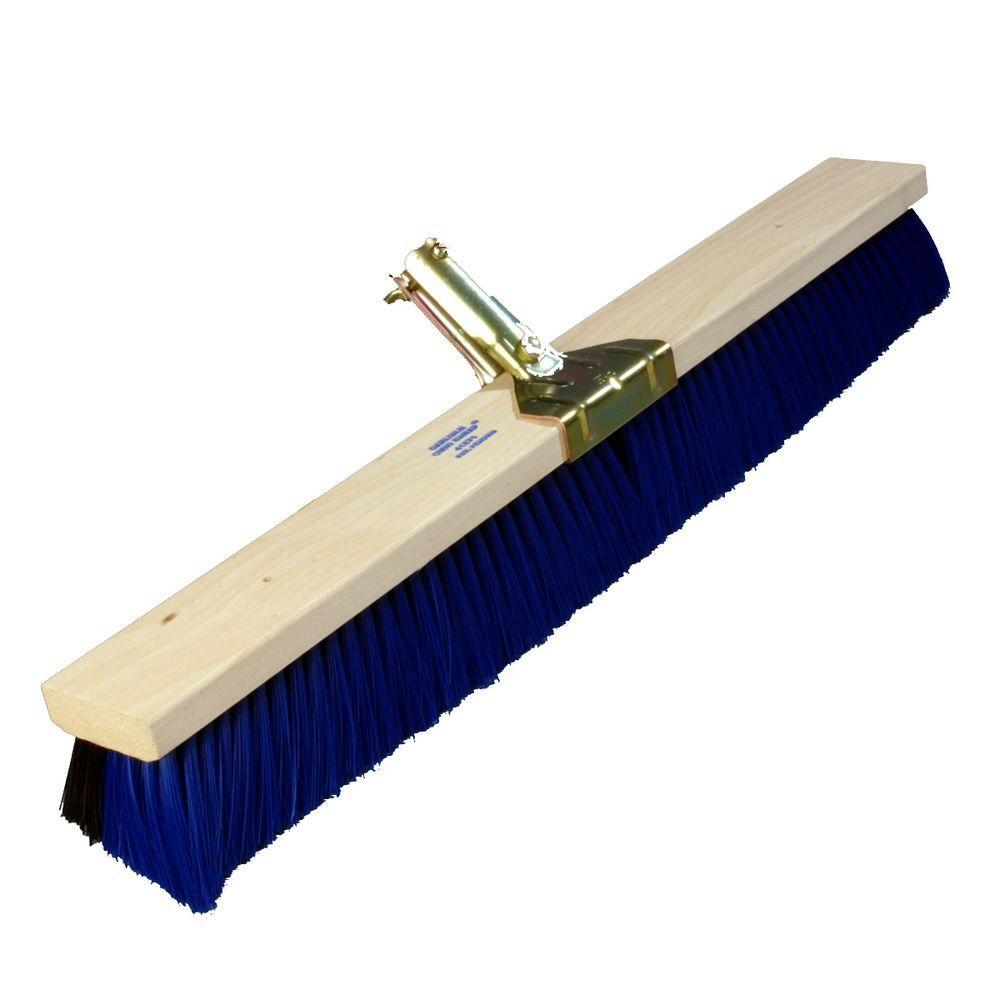 24 in. Wood Block Omni-Sweep Dual Bristle Broom with Anchor Style