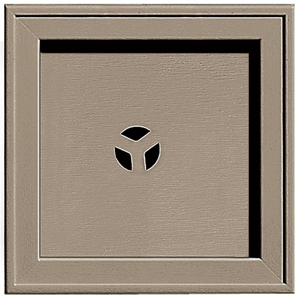 7.75 in. x 7.75 in. #095 Clay Recessed Square Mounting Block