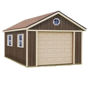 Best Barns Sierra 12 Ft X 20 Ft Wood Garage Kit Without