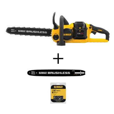 16 in. 60-Volt MAX Cordless Brushless FLEXVOLT Chainsaw with 16 in. Chainsaw Bar and 16 in. Chainsaw Chain (56 Link)