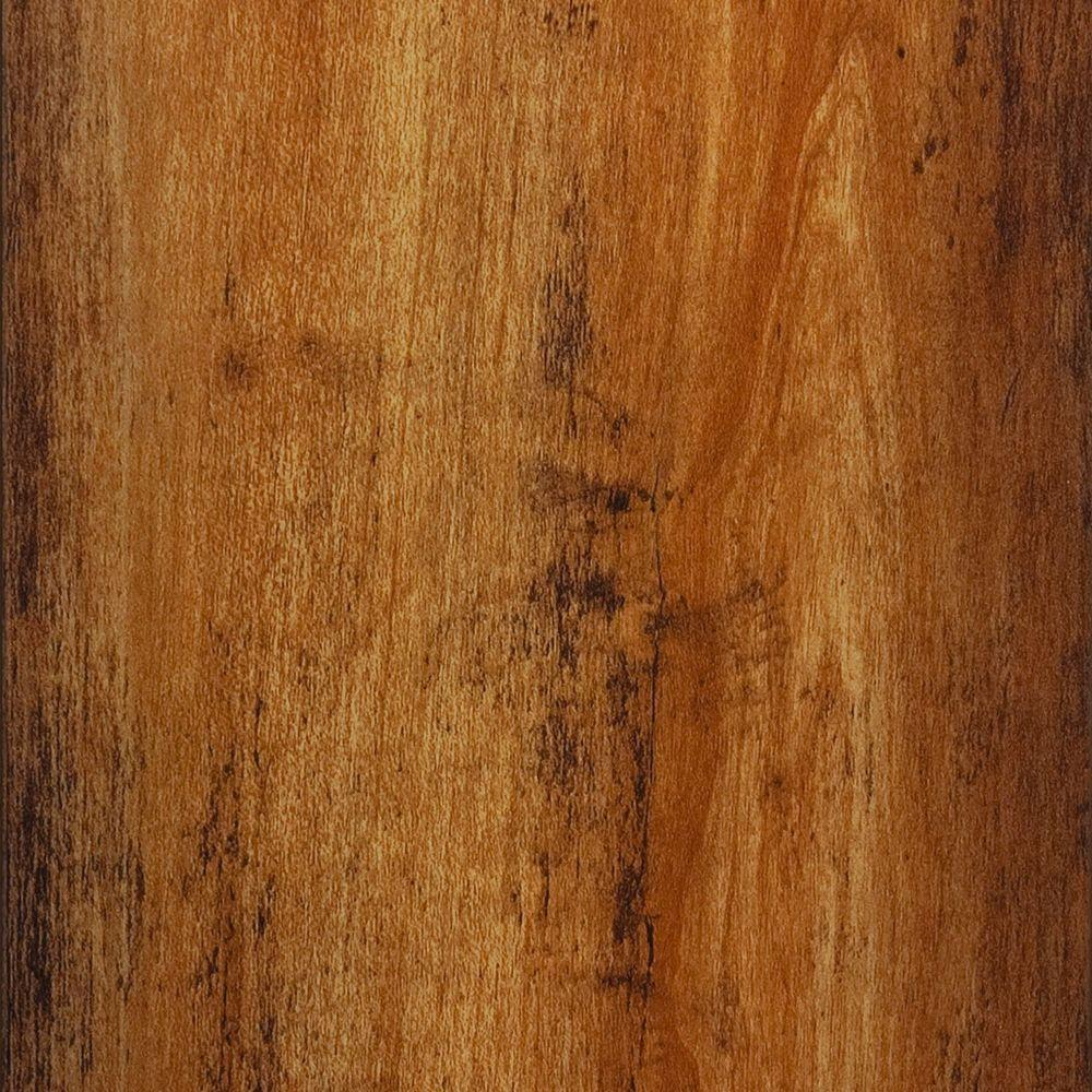 Hampton Bay Distr Maple Honey 8 mm Thick x 5-1/2 in. W x 47-7/8 in. L Laminate Flooring (14.63 sq.ft./case)-DISCONTINUED