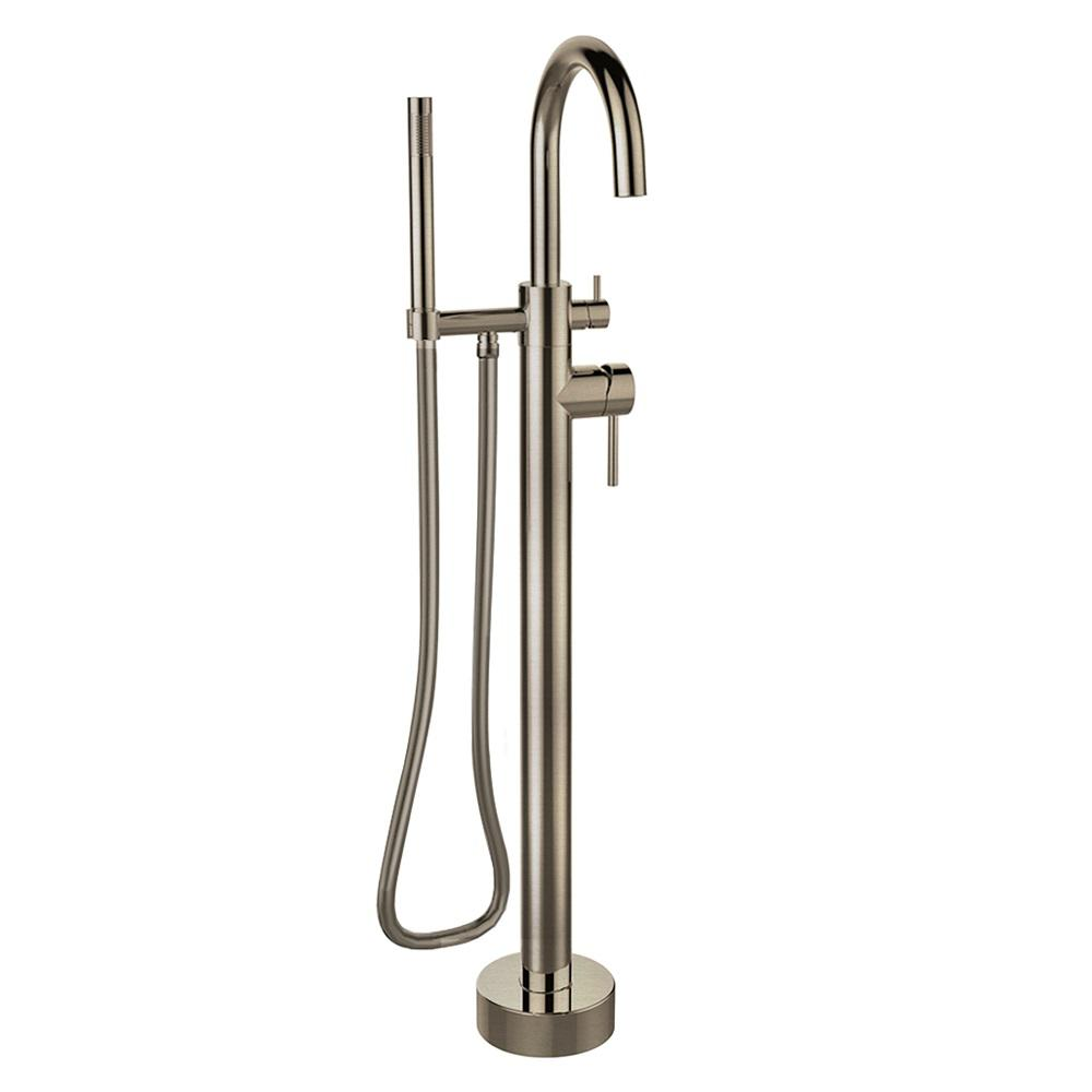 LaToscana Elba Single Handle Freestanding Floor-Mount Tub Filler ...