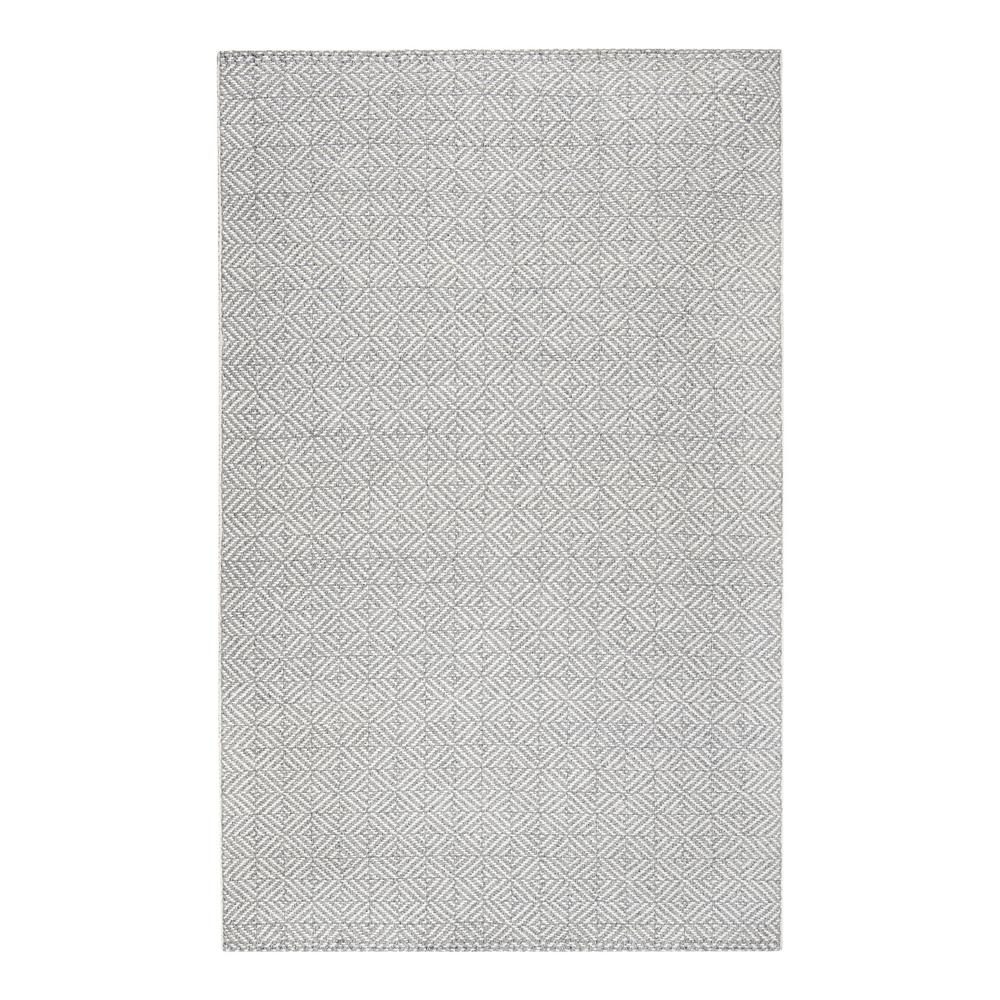 Inanna Flat Weave Neutral 5 ft. x 8 ft. Area Rug