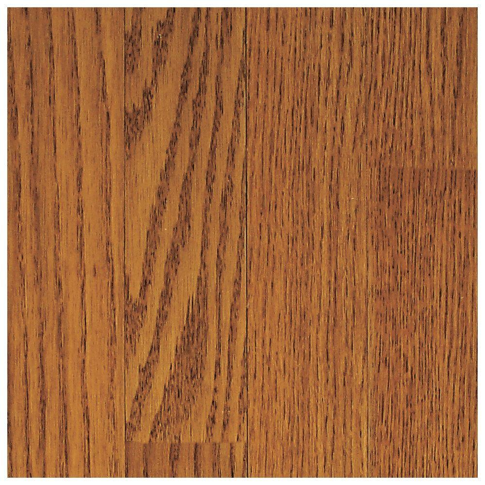 Mohawk Wilston Golden Oak Hardwood Flooring 5 In X 7 Take Home