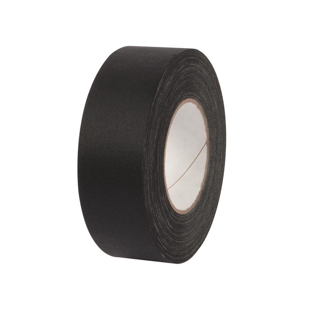 2 in. x 55 yds. Black Gaffer Industrial Vinyl Cloth Tape (3-Pack)