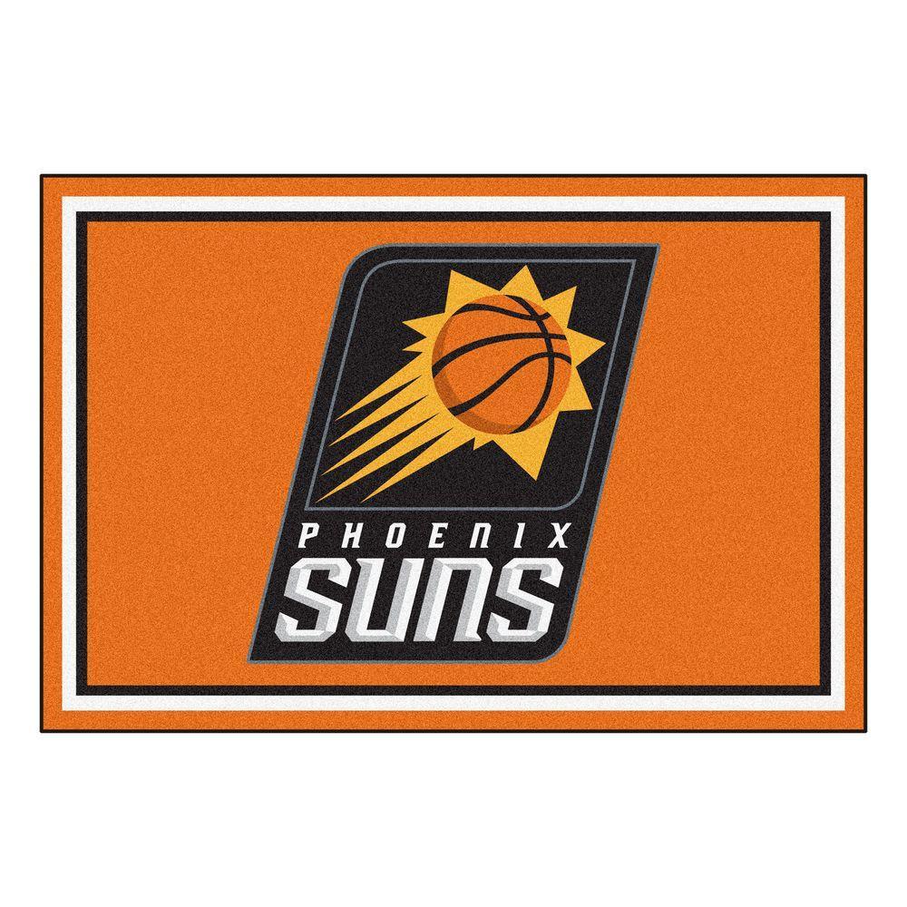 FANMATS Phoenix Suns 5 ft. x 8 ft. Area Rug