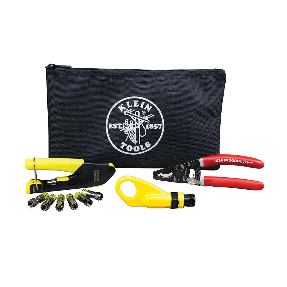 Klein Tools Coaxial Cable Installation Kit