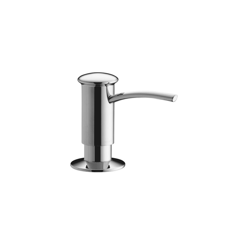 Contemporary Design Soap/Lotion Dispenser in Polished Chrome