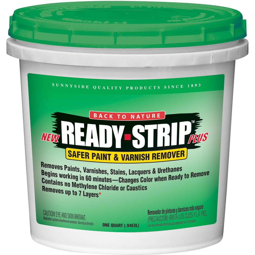 Ready strip 1 qt safer paint and varnish remover for Green products for the home