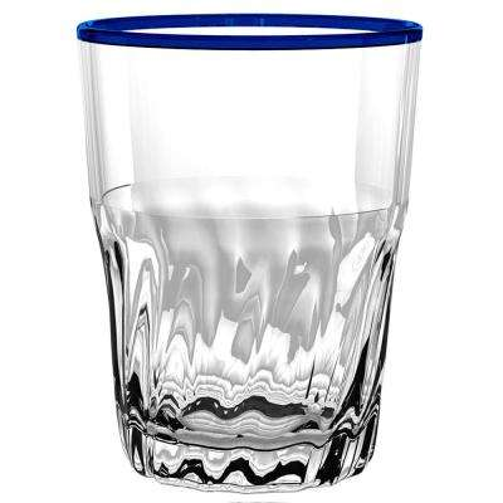 Cantina Blue DOF Glass (Set of 6)