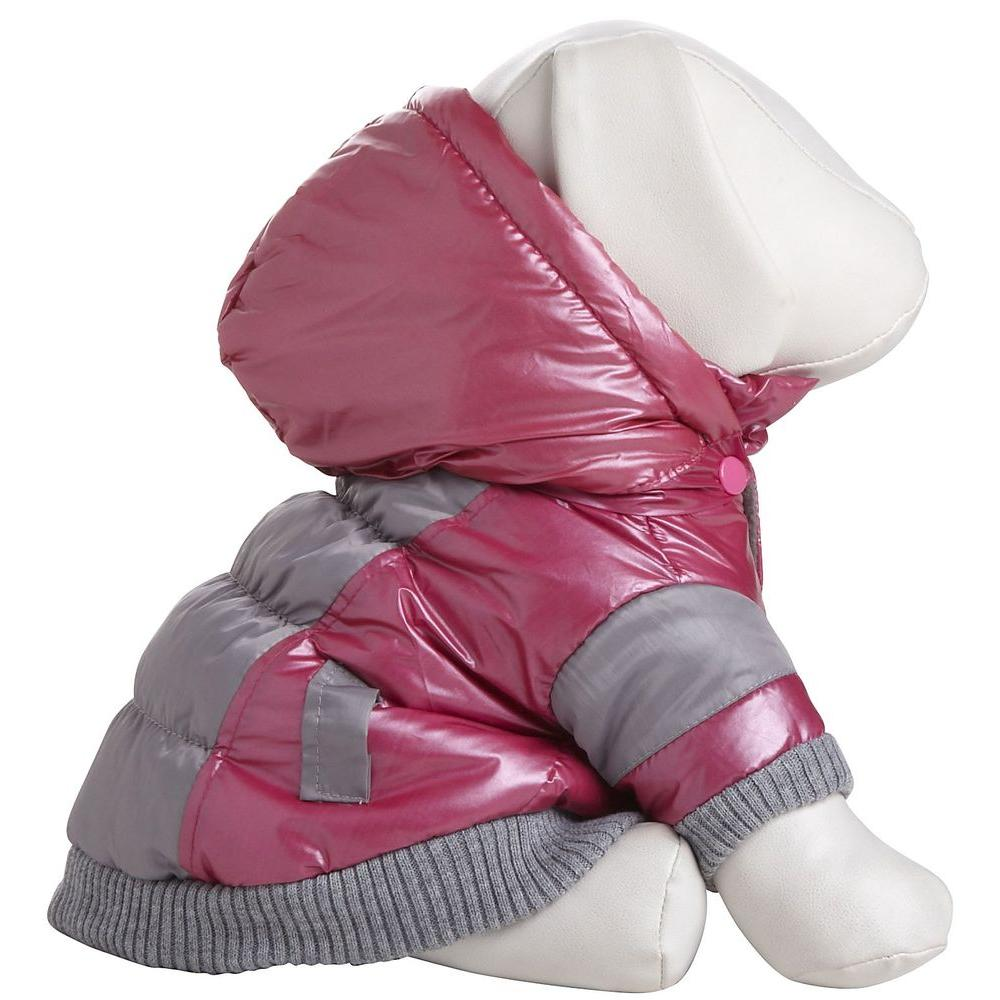 954f651fd PET LIFE Small Red and Beige Aspen Vontage Dog Ski Coat-24RDSM - The ...