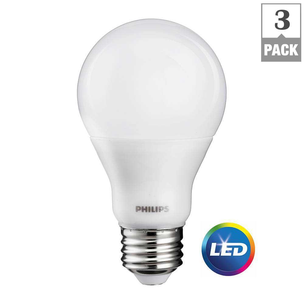 A19 E26 Led Bulbs Light Bulbs The Home Depot