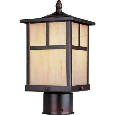 Coldwater EE 1-Light Burnished Outdoor Pole/Post Lantern