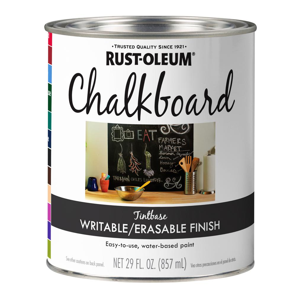 Rust-Oleum Specialty 29 oz. Tintable Chalkboard Paint