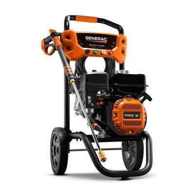2900 PSI 2.4 GPM Cold Water Gas Residential Pressure Washer