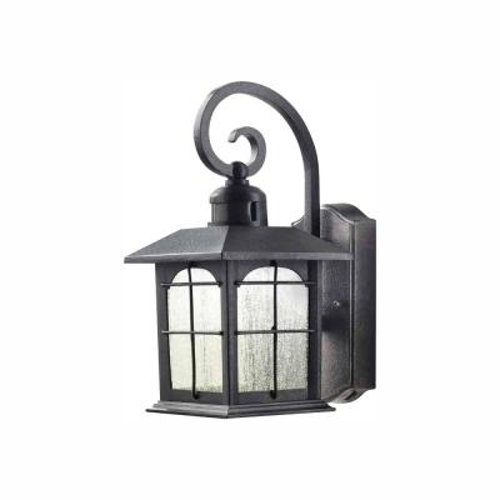 Aged Iron Motion Sensing Outdoor LED Wall Lantern Sconce