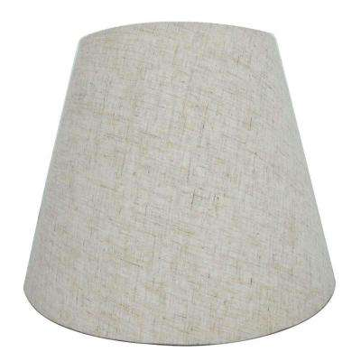 Mix and Match Beige Round Accent Lamp Shade