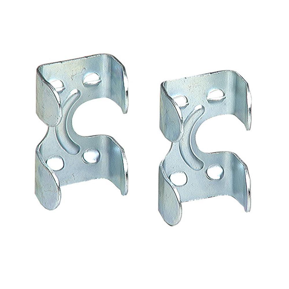 Lehigh 1/4 in.-3/8 in. Zinc-Plated Rope Clamps (2-Pack)-7040S-6 ...