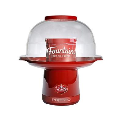 Hot Air 4 oz. Red Fountain Popcorn Popper