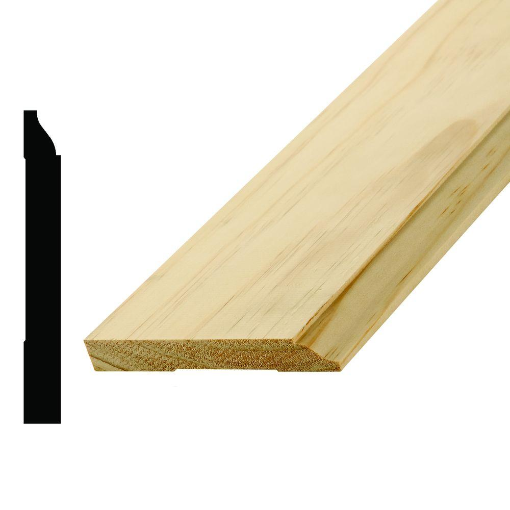Alexandria Moulding WM 620 9/16 in. x 4-1/4 in. x 96 in. ...