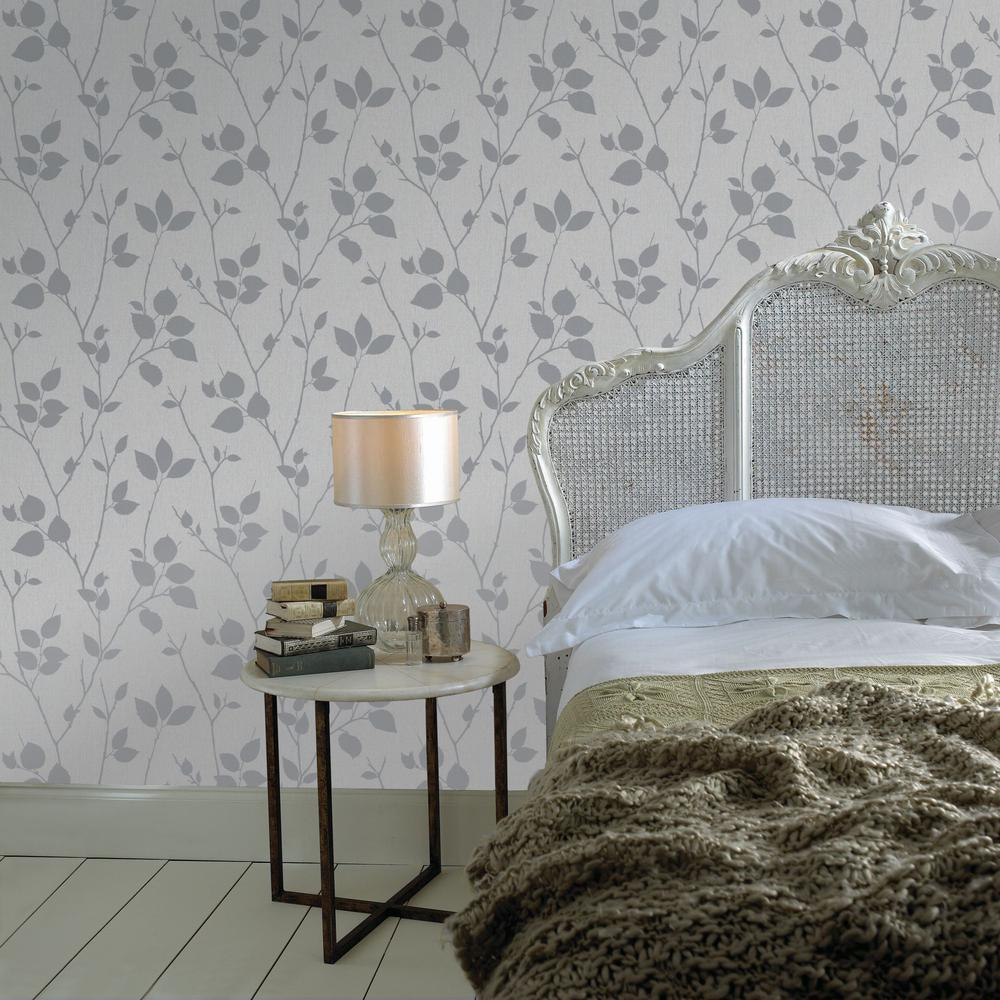 Graham & Brown Virtue Gray Wallpaper