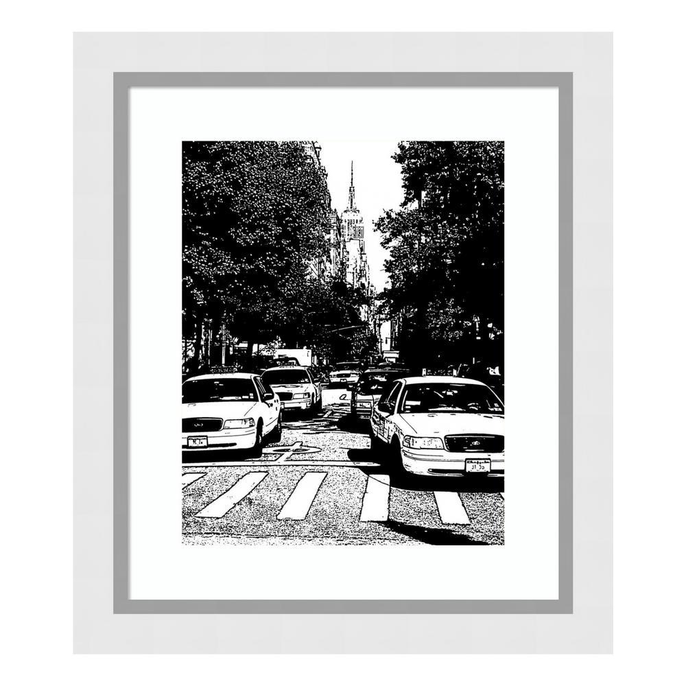 """New York Minute I"" by Jeff/Boyce Maihara/Watt Framed Wall Art"