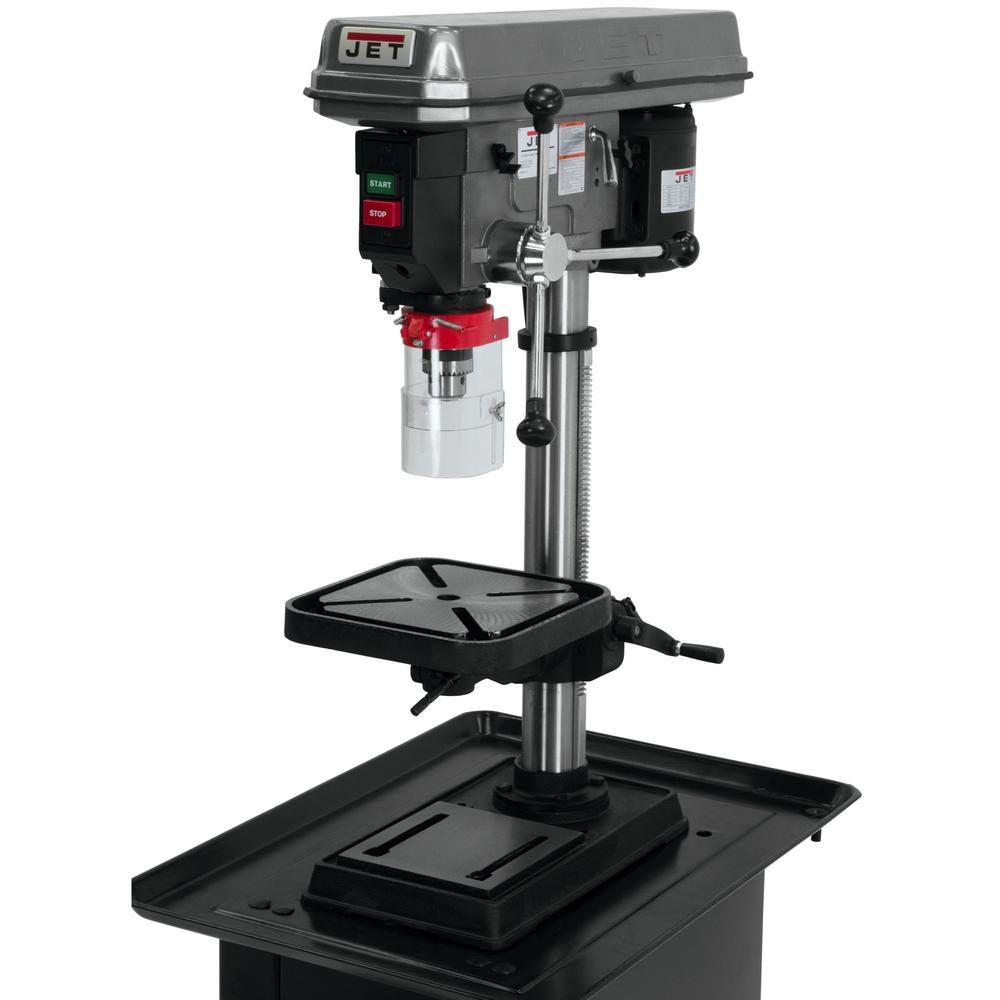 Jet 3/4 HP 15 in  Benchtop Drill Press with Worklight, 16-Speed, 115-Volt,  J-2530
