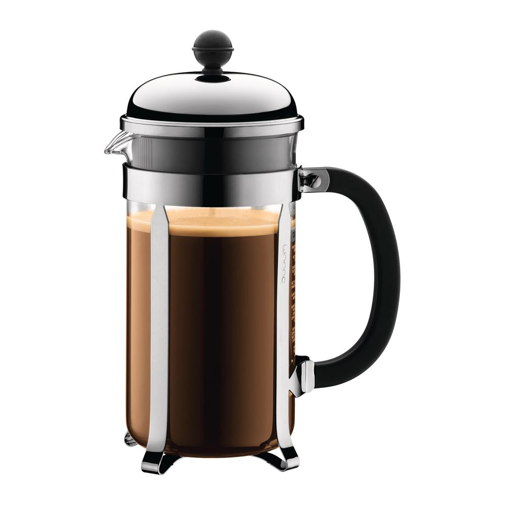 Bodum Chambord 8 Cup Chrome French Press Coffee Maker