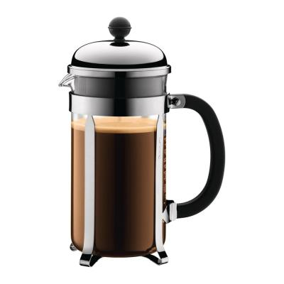 Chambord 8-Cup Chrome French Press Coffee Maker