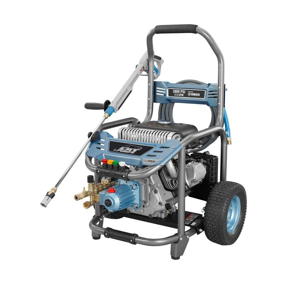 Cat Pumps 3800 psi 3.5 GPM Gas Pressure Washer-DISCONTINUED