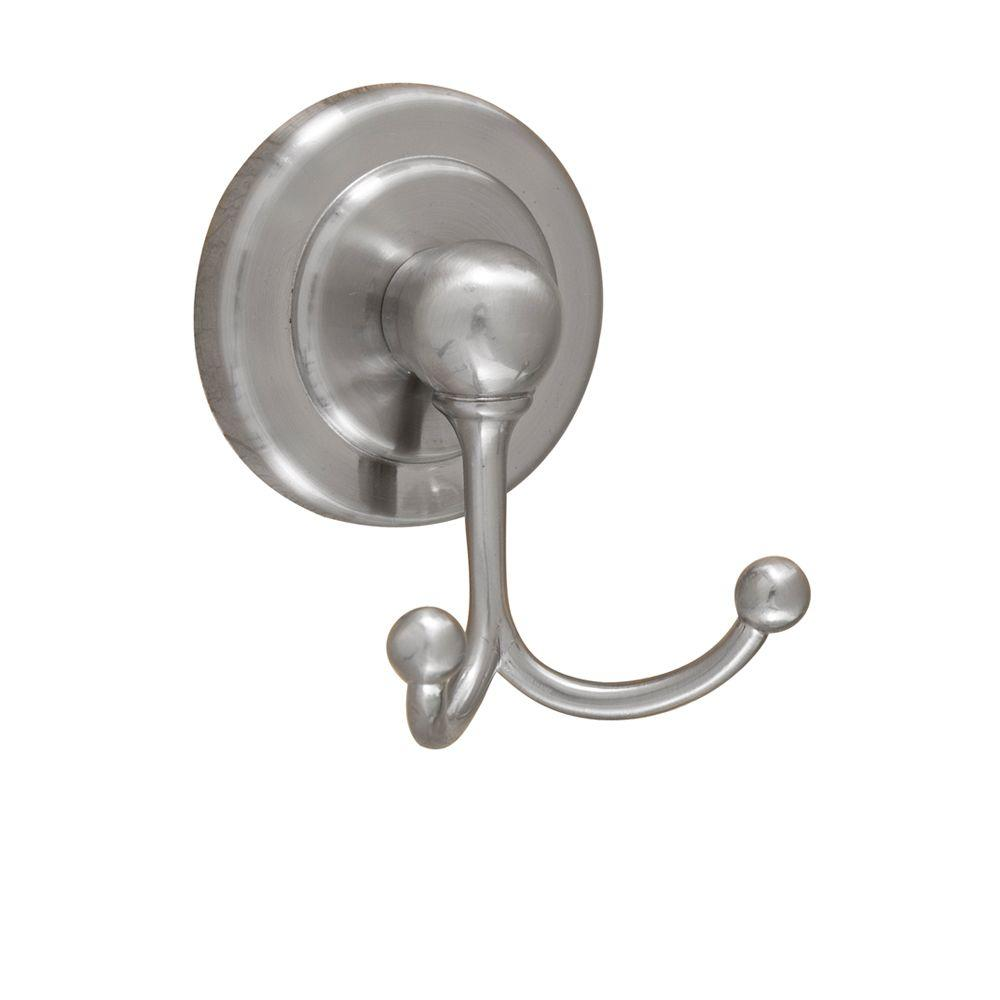 Barclay Products Salander Double Robe Hook in Satin Nickel