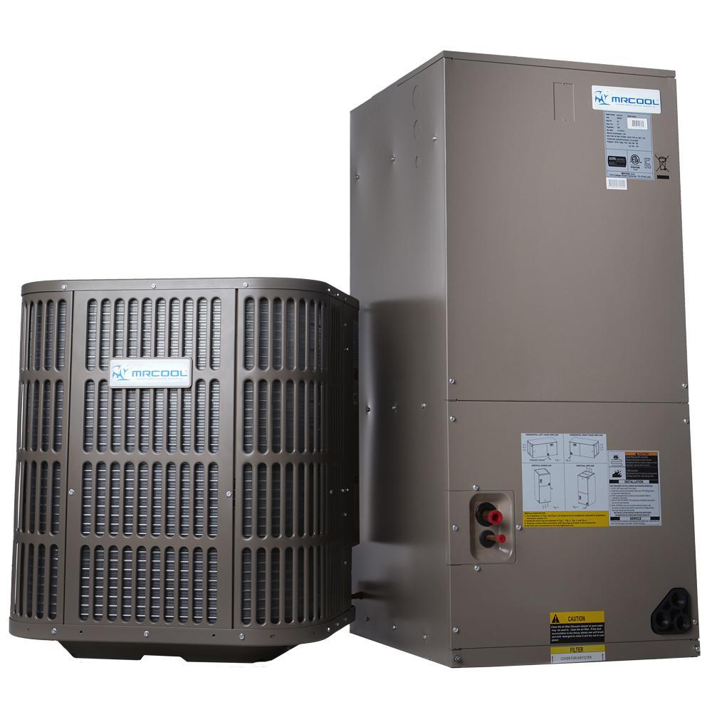 5 Ton 60,000 BTU 14 SEER R410A Split System Central Heat Pump System