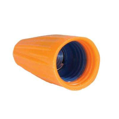 Orange and Blue Cushion Grip Wire Connectors (100-Pack)