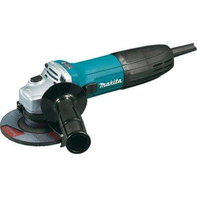 6 Amp 4-1/2 in. Corded Angle Grinder with Grinding Wheels