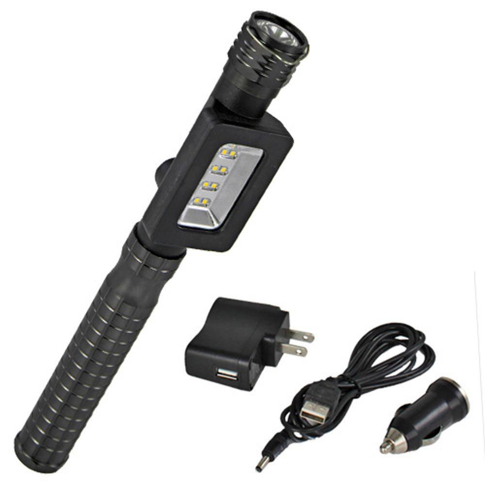Defiant 600-Lumen LED Rechargeable Handheld Work and Spot Light