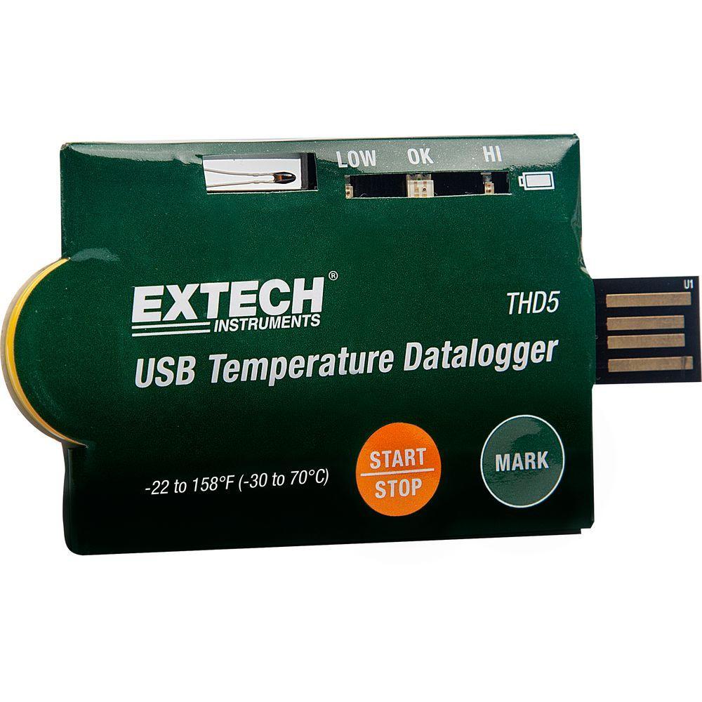 USB Temperature Datalogger (10-Pack)