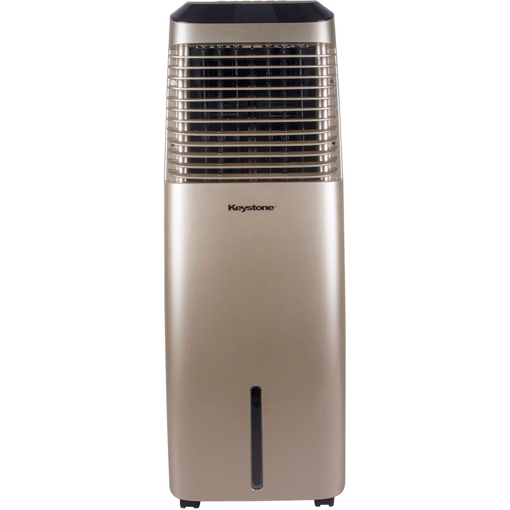 Keystone 418 CFM 3-Speed Portable Evaporative Air Cooler in Gold for up to 600 Sq. Ft. Cooling Area