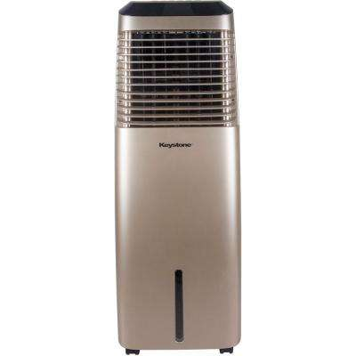 418 CFM 3-Speed Portable Evaporative Air Cooler in Gold for up to 600 Sq. Ft. Cooling Area