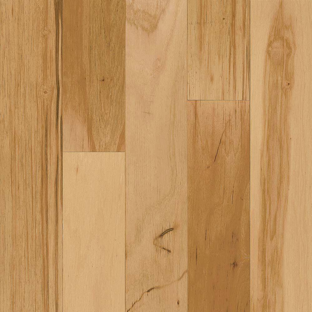 Take Home Sample - Hickory Rustic Natural Engineered Hardwood Flooring -