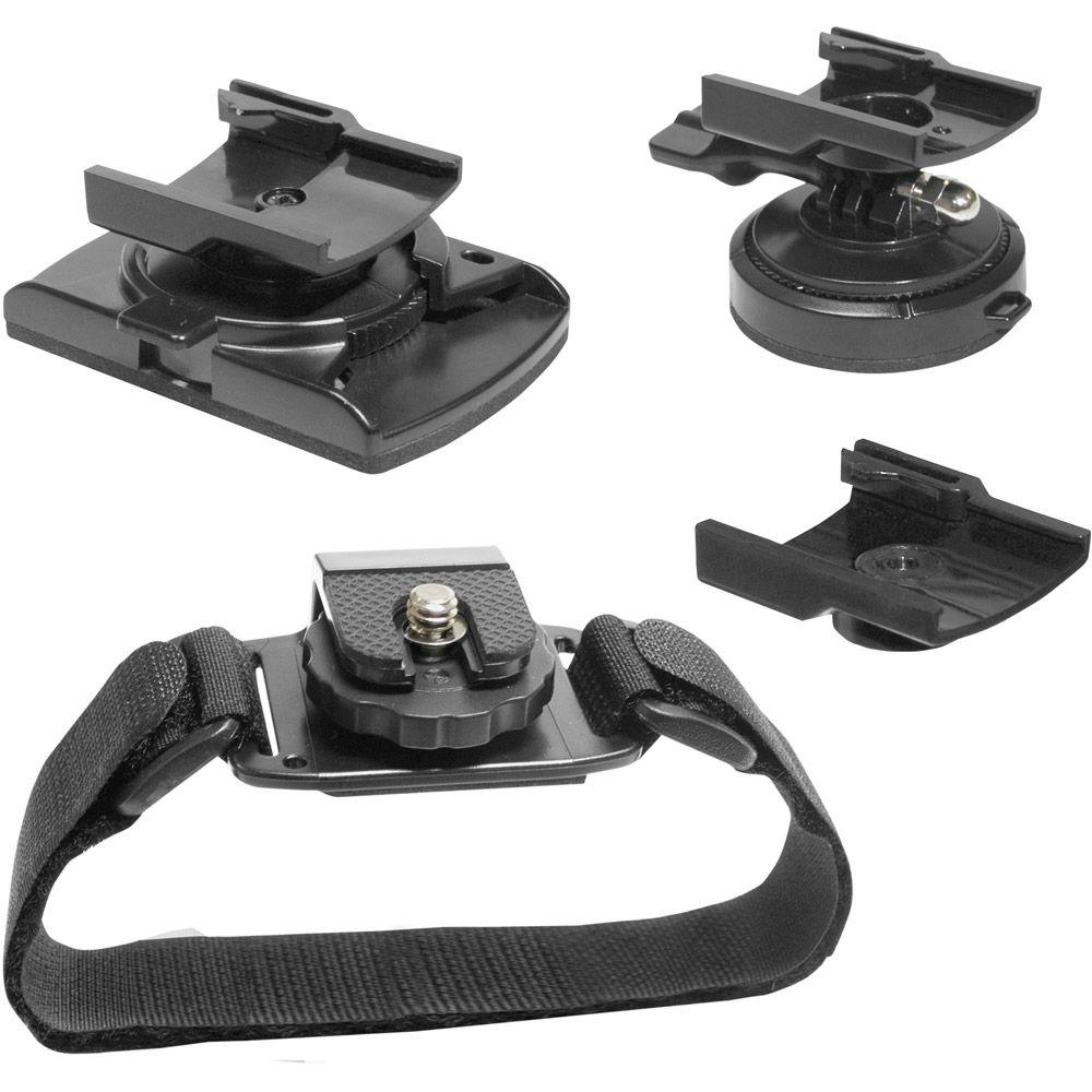 Midland Action Camera Accessory Value Pack for Goggles And Helmets---DISCONTINUED