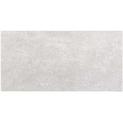 Malaga Pearl 12 in. x 24 in. 9.5mm Matte Porcelain Floor and Wall Tile (8-piece 15.49 sq. ft. / box)