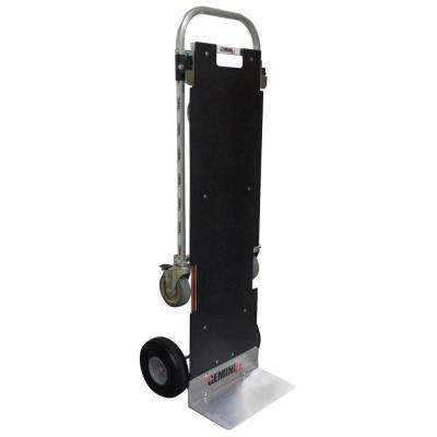 1,250 lb. Capacity Gemini XL Convertible Aluminum Hand Truck with Locking Casters, Non-Skid Platform and Foam Wheels